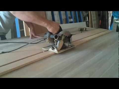 Guia/Régua para corte com serra circular manual
