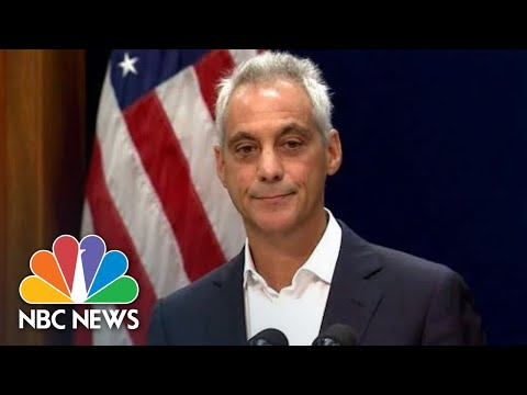 Rahm Emanuel: 'I Have Decided Not To Seek Re-Election.' | NBC News
