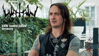 Watain - Interview Erik Danielsson - Paris 2018 - Duke TV [VOSTFR]