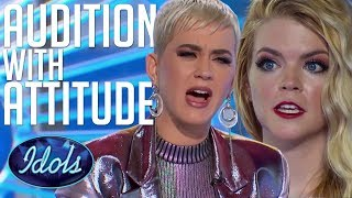 Video AUDITION With ATTITUDE! Can Koby Sing?! Katy Perry Tells Her How It Is... American Idol 2018 MP3, 3GP, MP4, WEBM, AVI, FLV Maret 2018