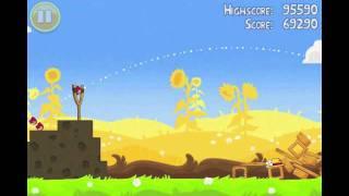 Angry Birds Seasons Summer Pignic Level 4 Walkthrough 3 Star
