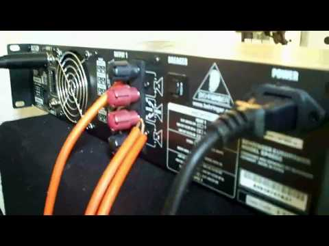 2400Wrms Amplifier - Closer look! Behringer EP4000