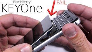 Video BlackBerry KEYone Durability Test - SCREEN FAIL! MP3, 3GP, MP4, WEBM, AVI, FLV Mei 2019
