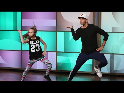 Dancer - She's only 11 years old, but she can really bust a move! Ellen had a very talented young dancer and her choreographer perform on the show.