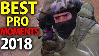 Video CS:GO - BEST PRO MOMENTS! 2018 (Flickshots, Crazy Clutches, Inhuman Reactions, ACEs, Best Frags) MP3, 3GP, MP4, WEBM, AVI, FLV Juni 2019