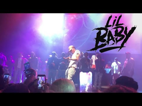Lil Baby - Throwing Shade LIVE in Richmond, VA @ The National 9/9/18