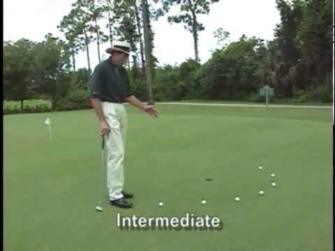 David Leadbetter's Walk Up Putting Drill