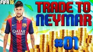 FIFA 16 TRADE TO NEYMAR #01 - DER ERSTE SCHRITT IN RICHTUNG NEYMAR! (Deutsch), neymar, neymar Barcelona,  Barcelona, chung ket cup c1, Barcelona juventus