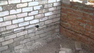 Электромонтаж под штукатурку / Electrical Installation plaster