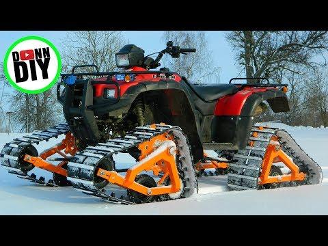 Homemade ATV tracks - Part 1