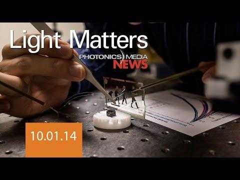 Blue OLEDs & Fiber Optic Landslide Sensors - LIGHT MATTERS 10.01.2014