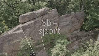 climbing VIDEOTOPO vol. 36. Idzików. Pasterskie Skały. Pies (Rozbój) by Video Topo