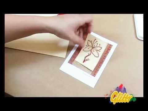 Einladungskarten gestalten - Einladungskarte basteln
