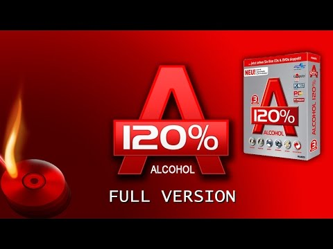 Alcohol 120% 2.0.3 Full Version (32 & 64 bit)