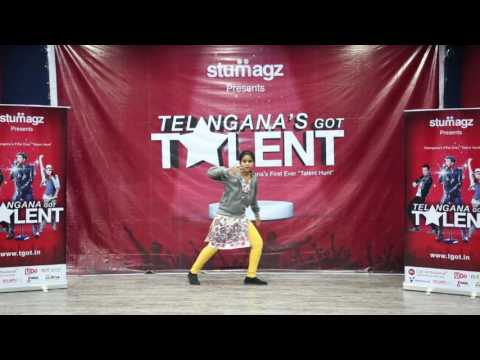 Shreya Dance Performance || Telangana Got Talent || TGOTC064