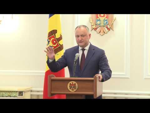 Preşedintele Republicii Moldova a prezidat prima şedinţă a Consiliului Suprem de Securitate, în noua componenţă