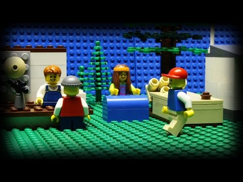 lego - A lego man spends the day at a festival, playing games and seeing the sights. Let's hope that he's a real winner... Music provided by Kevin MacLeod (incompet...