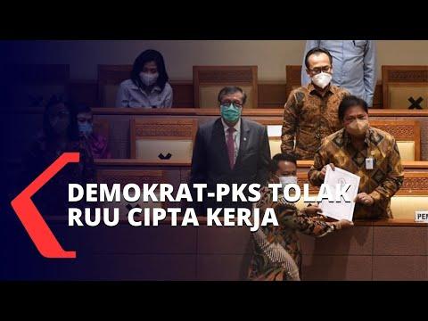 Demokrat-PKS Tolak RUU Cipta Kerja, 7 Fraksi Mendukung