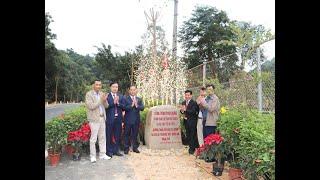 Gắn biển công trình Đường tuần tra bảo vệ rừng và Khu Di tích Quốc gia đặc biệt Yên Tử