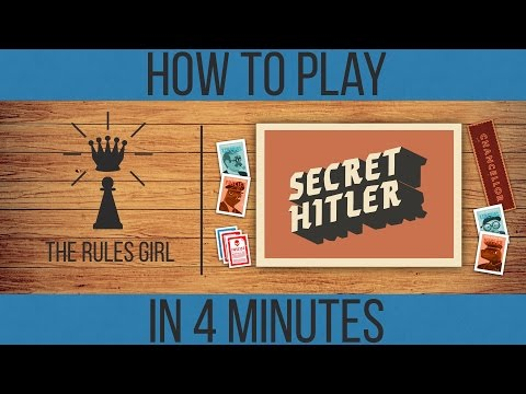 How To Play Secret Hitler In 4 Minutes - The Rules Girl