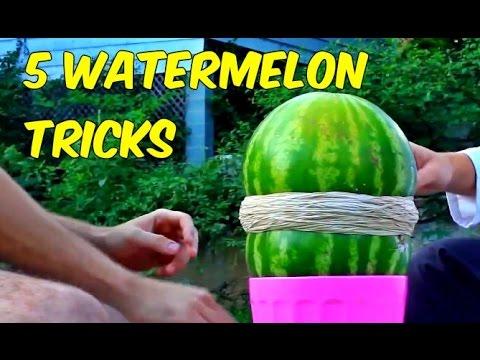5 trucchi pazzi per aprire un melone!