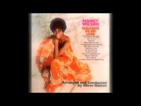Tekst piosenki Nancy Wilson - Angel Eyes po polsku