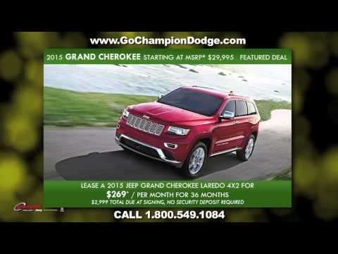 CHAMPION Downey, CA - 2015 Jeep Featured Deals - Serving Cerritos & Los Angeles