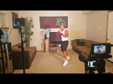 Vo Ball Fitness and Boxing training DVD behind the scene with Manny
