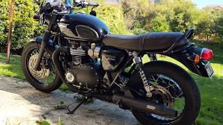 7. Triumph Bonneville T120 Black Custom
