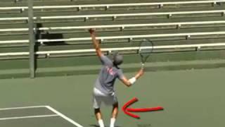 Tennis Highlights, Video - Tennis Serve - The 5 Secrets Of The Power Tennis Serve