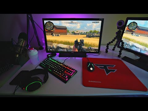FaZe Teeqo NEW Gaming Setup IN USA!? PC Black Ops 4 'BLACKOUT'