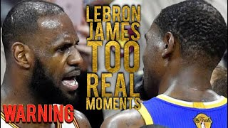 Video LeBron James Too Real Moments (Warning) MP3, 3GP, MP4, WEBM, AVI, FLV Juli 2019