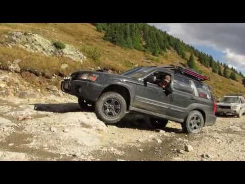 Lower Engineer Pass - Subaru Forester Off Road (видео)