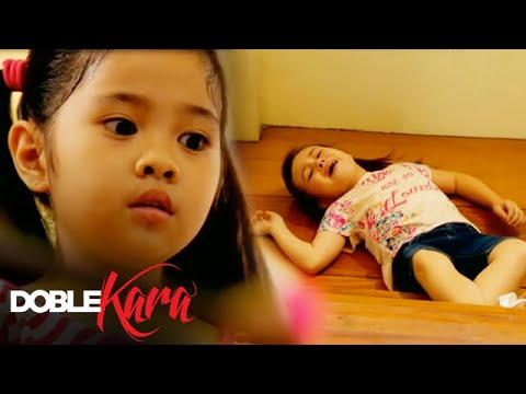 Hannah pushes Rebecca downstairs | Doble Kara