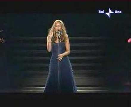 Leona Lewis A SANREMO 2008