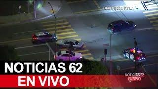 Persecución a auto robado en el Valle de San Fernando – Noticias 62 - Thumbnail