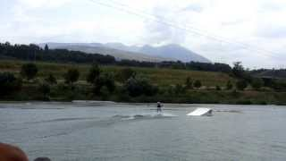 Hot Lake, Manopello, Abruzzo, Italy, Summer 2013