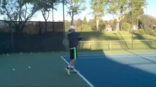 Engage Your Wrist for Forehand Top Spin