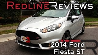 2014 Ford Fiesta ST Review, Walkaround, Exhaust,&Test Drive