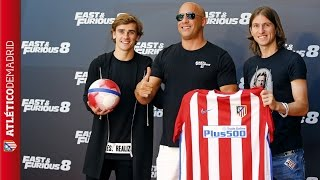 Nonton Griezmann and Filipe were at the presentation of Fast & Furious 8 Film Subtitle Indonesia Streaming Movie Download