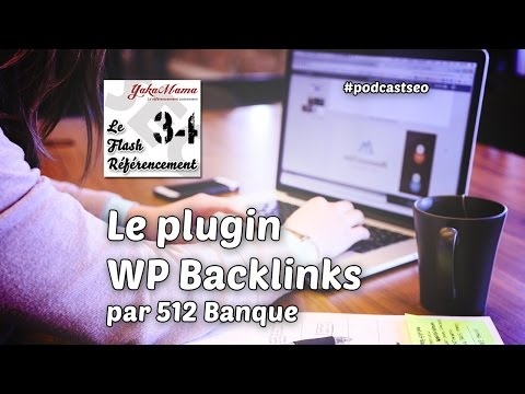 Le flash référencement 34 - Plugin WP Backlinks par 512Banque
