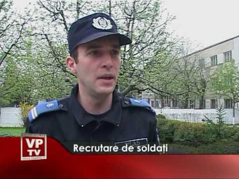 Recrutare de soldati