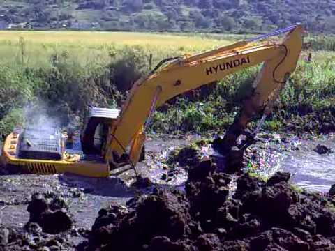 Como atolar uma escavadeira escavadeira 04