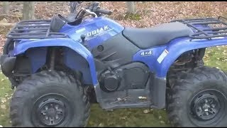 3. Yamaha Kodiak 400 ATV Ride + Review