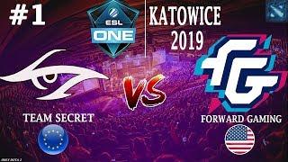 ПУПЕЙ против РЕЗОЛЯ!   Secret vs FWD #2 (BO2)   ESL One Katowice 2019