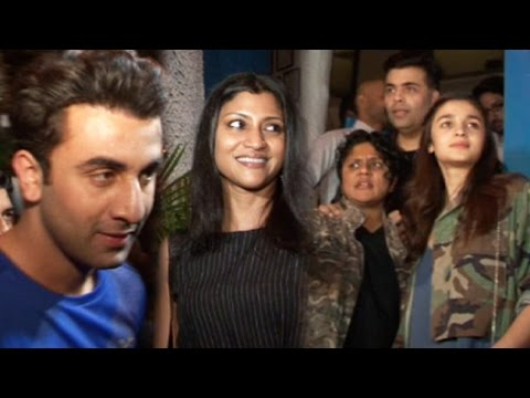 Ranbir Kapoor And Alia Bhatt Party Hard Before Pre