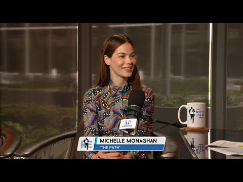 """Actress Michelle Monaghan of Hulu's """"The Path"""" Joins The RE Show in Studio - 4/6/17"""