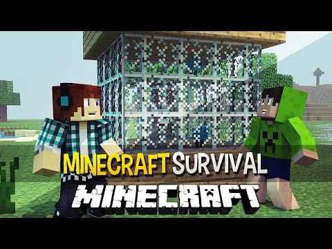 survival - Mais Minecraft Survival Aqui: http://bit.ly/1ocBsPm ✖Twitter: https://twitter.com/AuthenticGames ✖Facebook: http://www.facebook.com/AuthenticGames ✖Instagram: http://instagram.com/marco_tulio...