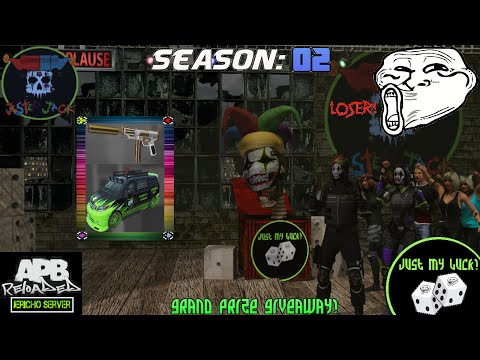 APB Reloaded: Just My Luck Season 2 Grand Prize Giveaway!