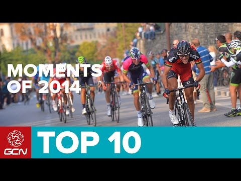 top moments - From the Tour de France to Jens' hour record here are our top ten moments from the 2014 pro cycling season. Follow GCN on YouTube: http://gcn.eu/SubscribeToGCN We've picked out some of our...